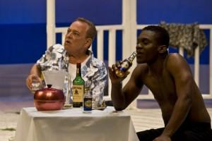 PATRICK FOSTER as Harry Trewe & SIMON ALLEYNE as Jackson Phillip