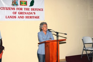 "Dr. Esther Figuerora, creator of the controversial ""JAMAICA FOR SALE"""