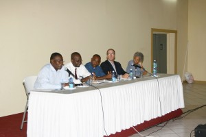Panellists and Moderator at