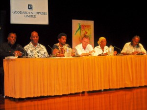 Panel at the Grand Salle