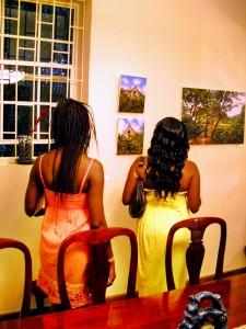 Fascinated Patrons at Maxor Villa