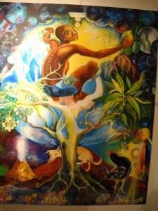 """Melanie Springer's own artwork for cover of """"Pearl - A Caribbean story"""" aval. at Amazon"""