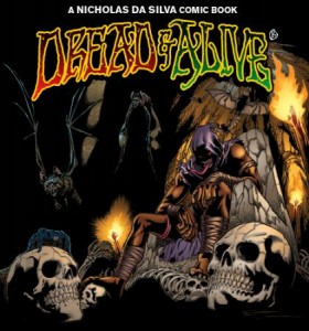 Dread & Alive is an ongoing graphic novel series about Jamaican Super Hero, Drew McIntosh