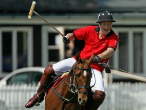 Prince Harry is set to play for the Sentebale team in the match at the exclusive Apes Hill Polo Club in Barbados on January 31, 2010 to raise money which helps orphans and vulnerable children in Lesotho.