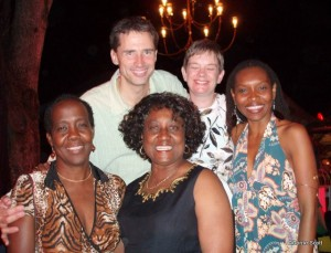 NCF's Donna Hunte-Cox and other Holders' patrons, near and far