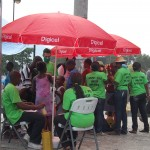 Doctors from the Ministry of Health's mobile vaccination clinics administer vaccinations