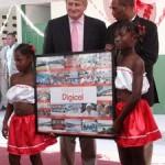 O'Brien File Photo in Haiti, during Happier Times