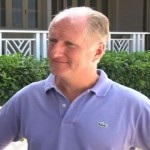 Four Seasons Regional Vice President Mr. Andrew Humphries. He is also the General Manager of the Four Seasons Resort, Nevis