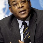 Haitian Prime Minister Jean Max Bellerive