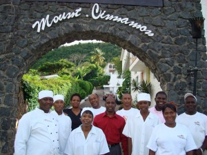 The management of Savvy's took a conscious decision to train local talented chefs. Some of the best executive Chefs from Italy and France came to Grenada to conduct this training.