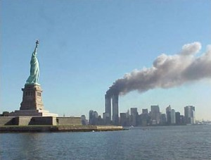 9/11 - Many theories, including a suggestion of warmongering aliens?