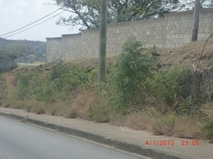 This is Dry Season - when will they remove this? During Rainy season? Great planning!