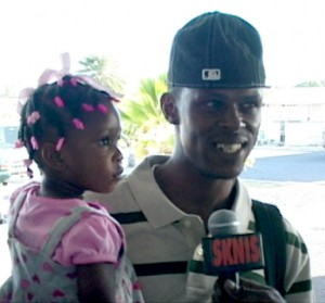 James Daniel traveled to St. Vincent with his daughter Ziana