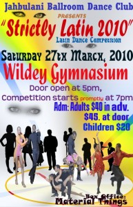 strictly latin 2010 poster