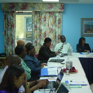 Workshop participants paying attention to a presentation from Caribbeann Export.