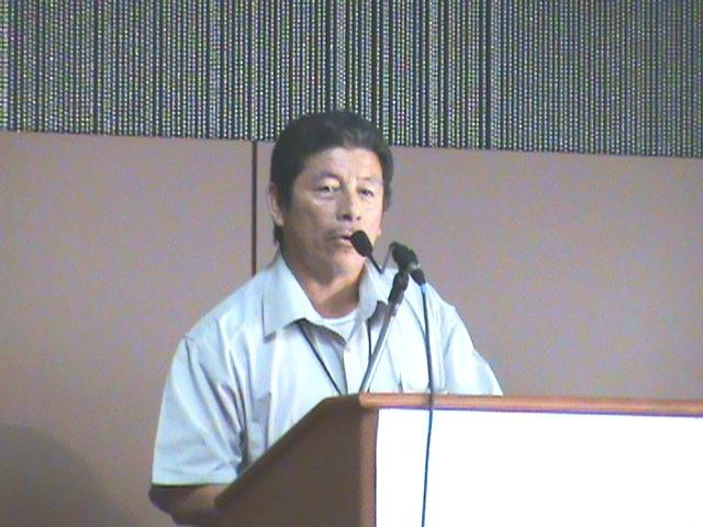 Bartolo Teul at Climate Change Conference in Alaska 2009