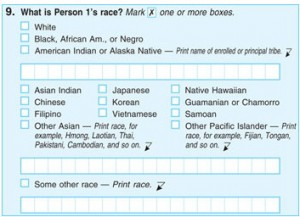 If there was not a drive to get USA to recognise caribbean Nationals, I'd suggest you list every known race from Star Trek, Futurama and Farscape just to cloud matters!