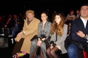 Sir Bob Geldof with his wife Jeanne Marine and daughter Tiger Lily Geldof