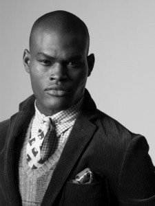 Oraine Barret in Polo by Ralph Lauren campaign ad (photo provided by Pulse Model Agency)
