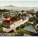 Image of 1900s view of a developing Basseterre