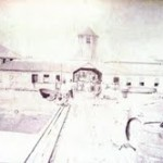 Image of the original Customs Building, Basseterre which later became the Former Treasury Building