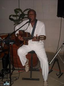 Aubrey at Hilton Barbados in 2009