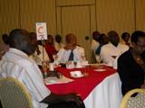 FILE PHOTO - Business leaders at a seminar