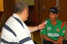 IAN BOURNE INTERVIEWS BANGLADESH CAPTAIN SHAKIB AL HASAN [PHOTO: NICHOLAS REID IMAGES - BARBADOS]