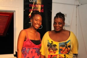 (L to R) Janelle R. Walcott - Event Coordinator and MC, with Judith Alexander who's 1st Place qualifier.