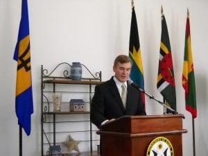 Dr Hardt addressing participants