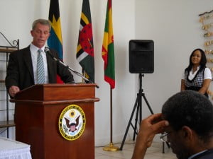 PEPFAR's Caribbean Coordinator William J. Conn