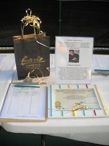 Duane Sevelin's Hollywood make-over: keenly contested item in the Silent Auction