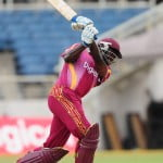 Wavell Hinds muscles runs down the ground - DigicelCricket.com