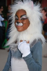 "Motiance Dance Company presented ""Cats"" at last year's Boardwalk Mas. The company will be back again this Saturday, May 15 with another presentation."