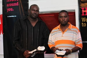 (L-R) Kevin Forde and Rolrick Bonnett Round 3 Qualifiers