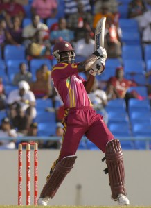 Darren Sammy launches a massive six - Randy Brooks photo and DigicelCricket.com