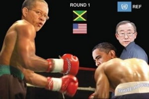 "Courtesy ""On The Ground News"" - 'WHO WINNING??? LOL!'"