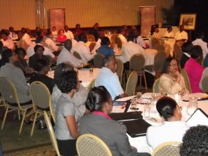 Many key Managers & Directors of Barbados attended the motivational gala