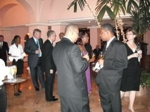 Some guests were from UK & Antigua and also included officials from NIS & Illuminat
