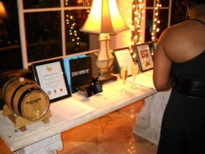 The Silent Auction of plentiful goodies for a Great Cause