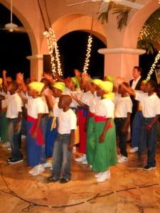 UK Tenor & Cuthbert Moore Primary performing Barbadian Folk Music
