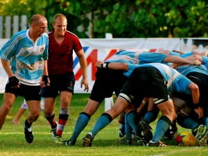 Big boys, uh, Men's Rugby - Conyers Cup in Caymans