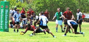 Scrimmage with U-16's: Conyers Action in Caymans
