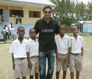 Sangakkara part of top cricketers to meet Caribbean HIV prevention groups as part of Think Wise initiative