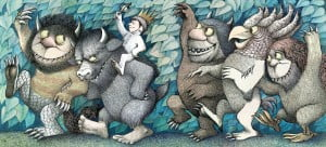 "COMPARISON TO PETRA - Sendak's ""Where The Wild Things Are"""