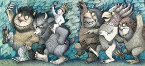 "COMPARISON TO PETRA - Sendak's ""Where The Wild Things Are"""