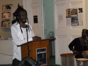 Ras Akyem recalling Kamau's influence in his life - Kamau called on Ras Akyem to do no less than 3 of his book covers for various of his many works
