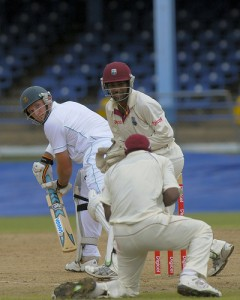 Graeme Smith is caught by Dwayne Bravo at slip - Brooks La Touche Photography and DigicelCricket.com