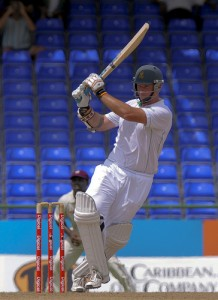 Graeme Smith pulls to the boundary for four - Brooks La Touche Photography and DigicelCricket.com
