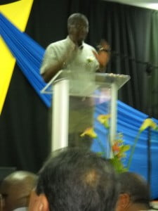 Deputy PM Freundel Stuart reinforcing his belief that a cellphone ban is good at schools, how do Parents & Students at Parkinson Memorial feel about that?